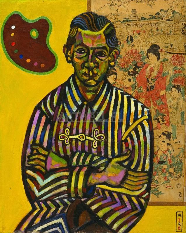 Миро Хоан, картина Портрет Энрике РикартаМиро Хоан<br>Репродукция на холсте или бумаге. Любого нужного вам размера. В раме или без. Подвес в комплекте. Трехслойная надежная упаковка. Доставим в любую точку России. Вам осталось только повесить картину на стену!<br>