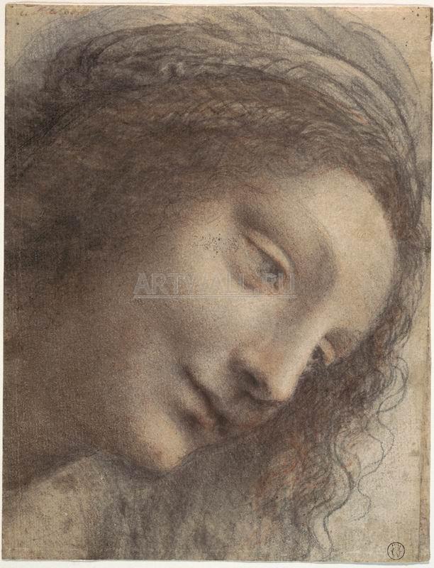 Да Винчи Леонардо, картина Голова БогоматериДа Винчи Леонардо<br>Репродукция на холсте или бумаге. Любого нужного вам размера. В раме или без. Подвес в комплекте. Трехслойная надежная упаковка. Доставим в любую точку России. Вам осталось только повесить картину на стену!<br>