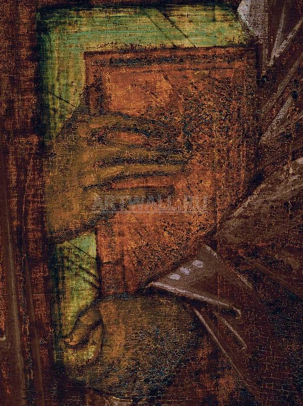 Рублев Андрей, картина Апостол Павел из деисусного чина собора. деталь2Рублев Андрей<br>Репродукция на холсте или бумаге. Любого нужного вам размера. В раме или без. Подвес в комплекте. Трехслойная надежная упаковка. Доставим в любую точку России. Вам осталось только повесить картину на стену!<br>