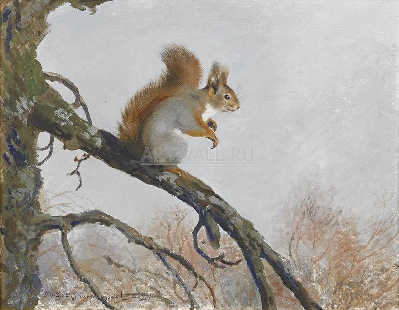 Охота, картина