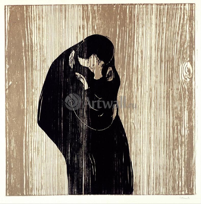 Мунк Эдвард, картина Поцелуй IVМунк Эдвард<br>Репродукция на холсте или бумаге. Любого нужного вам размера. В раме или без. Подвес в комплекте. Трехслойная надежная упаковка. Доставим в любую точку России. Вам осталось только повесить картину на стену!<br>
