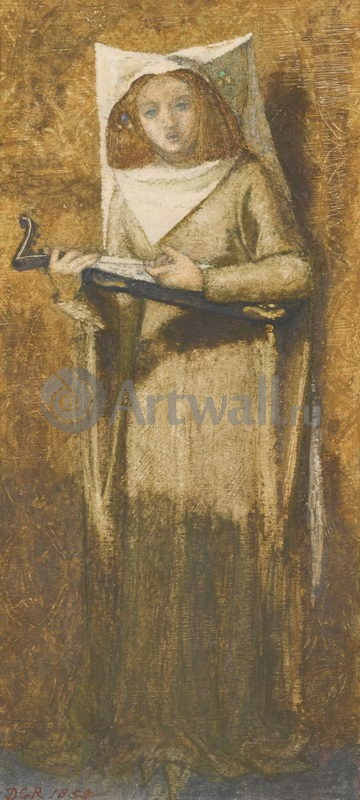 Россетти Габриэль Данте, картина Девушка, поющая под лютнюРоссетти Габриэль Данте<br>Репродукция на холсте или бумаге. Любого нужного вам размера. В раме или без. Подвес в комплекте. Трехслойная надежная упаковка. Доставим в любую точку России. Вам осталось только повесить картину на стену!<br>