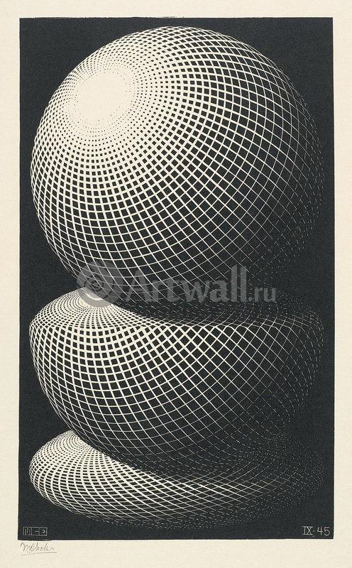 Эшер Мауриц Корнелис, картина