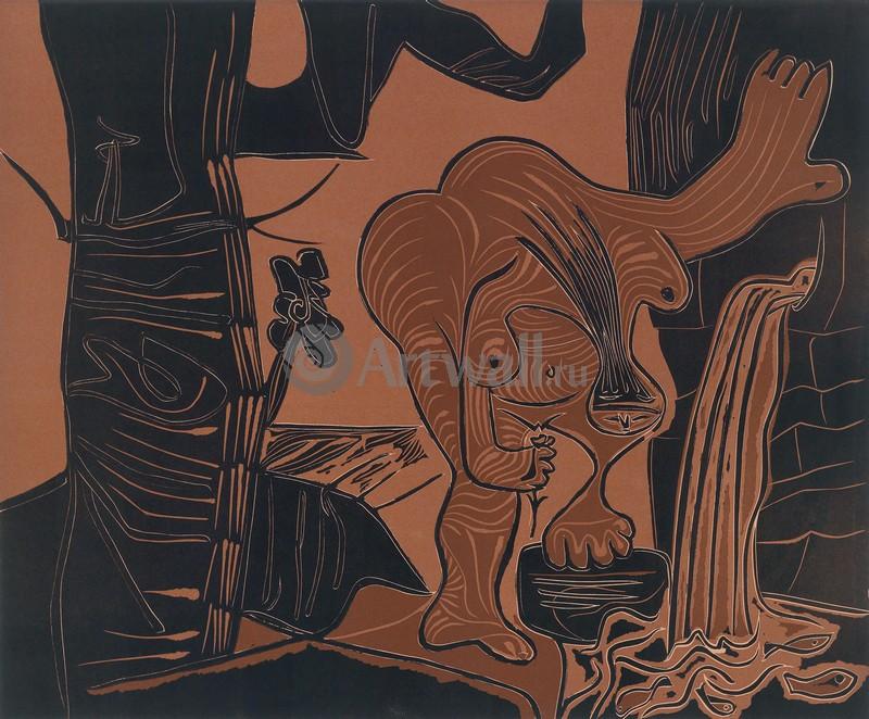 Пикассо Пабло, картина Женщина веснойПикассо Пабло<br>Репродукция на холсте или бумаге. Любого нужного вам размера. В раме или без. Подвес в комплекте. Трехслойная надежная упаковка. Доставим в любую точку России. Вам осталось только повесить картину на стену!<br>