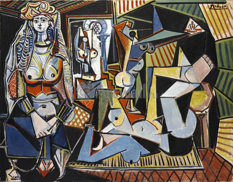 Пикассо Пабло, картина Женщина из АлжираПикассо Пабло<br>Репродукция на холсте или бумаге. Любого нужного вам размера. В раме или без. Подвес в комплекте. Трехслойная надежная упаковка. Доставим в любую точку России. Вам осталось только повесить картину на стену!<br>