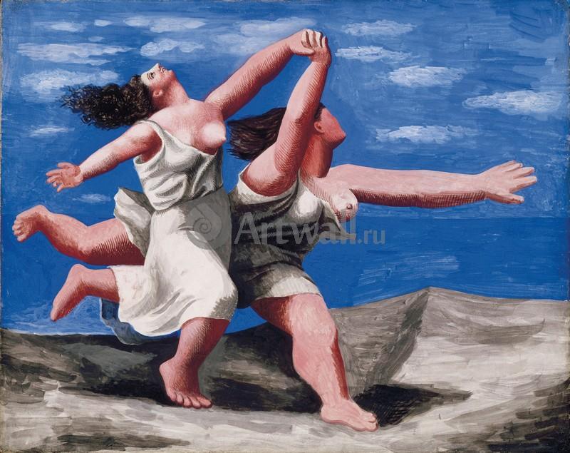Пикассо Пабло, картина Женщины, бегущие по берегуПикассо Пабло<br>Репродукция на холсте или бумаге. Любого нужного вам размера. В раме или без. Подвес в комплекте. Трехслойная надежная упаковка. Доставим в любую точку России. Вам осталось только повесить картину на стену!<br>
