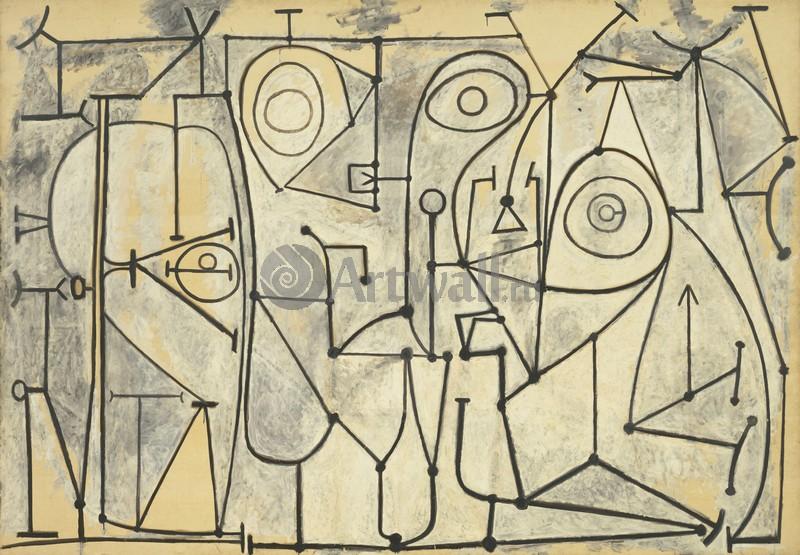 Пикассо Пабло, картина КухняПикассо Пабло<br>Репродукция на холсте или бумаге. Любого нужного вам размера. В раме или без. Подвес в комплекте. Трехслойная надежная упаковка. Доставим в любую точку России. Вам осталось только повесить картину на стену!<br>