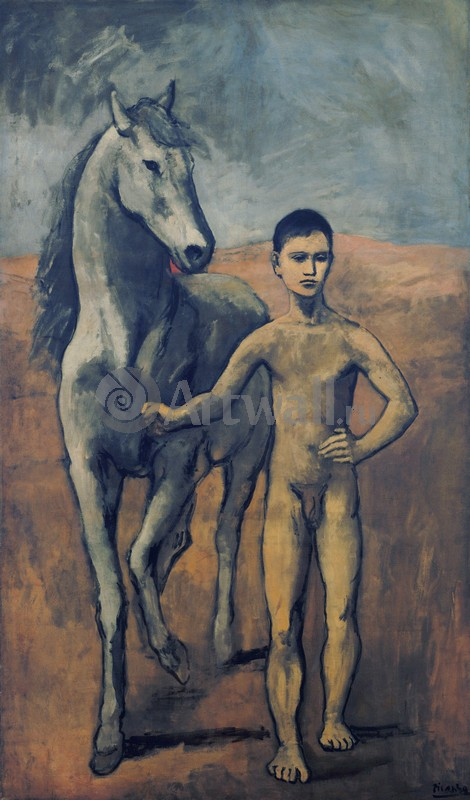 Пикассо Пабло, картина Мальчик, ведущий лошадьПикассо Пабло<br>Репродукция на холсте или бумаге. Любого нужного вам размера. В раме или без. Подвес в комплекте. Трехслойная надежная упаковка. Доставим в любую точку России. Вам осталось только повесить картину на стену!<br>