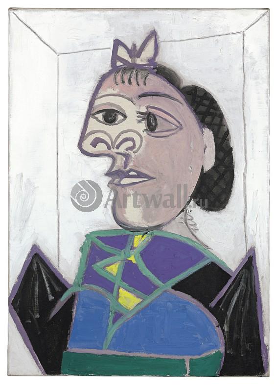 Пикассо Пабло, картина Сидящая женщинаПикассо Пабло<br>Репродукция на холсте или бумаге. Любого нужного вам размера. В раме или без. Подвес в комплекте. Трехслойная надежная упаковка. Доставим в любую точку России. Вам осталось только повесить картину на стену!<br>