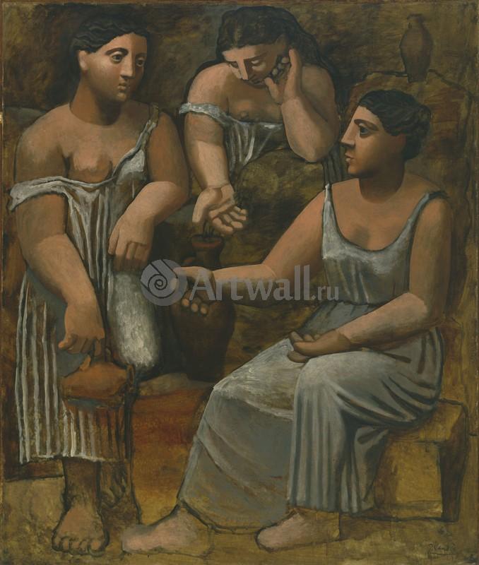 Пикассо Пабло, картина Три женщины веснойПикассо Пабло<br>Репродукция на холсте или бумаге. Любого нужного вам размера. В раме или без. Подвес в комплекте. Трехслойная надежная упаковка. Доставим в любую точку России. Вам осталось только повесить картину на стену!<br>