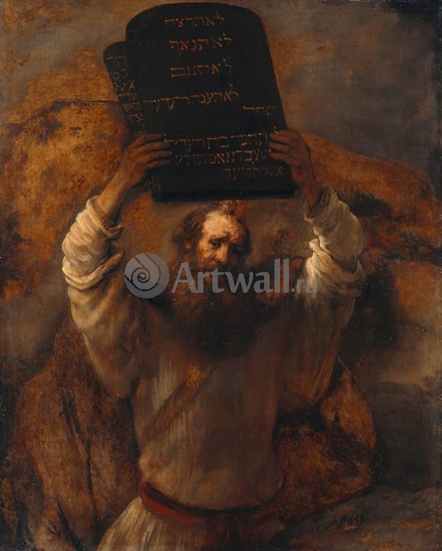 Рембрандт Харменс Ван Рейн, картина Моисей разбивает скрижалиРембрандт Харменс Ван Рейн<br>Репродукция на холсте или бумаге. Любого нужного вам размера. В раме или без. Подвес в комплекте. Трехслойная надежная упаковка. Доставим в любую точку России. Вам осталось только повесить картину на стену!<br>