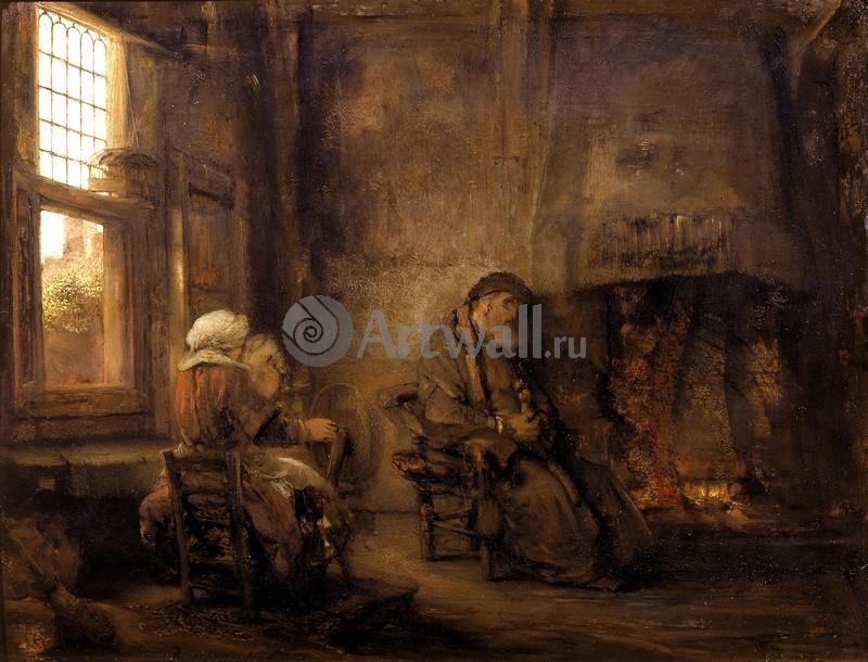 Рембрандт Харменс Ван Рейн, картина Товия и его женаРембрандт Харменс Ван Рейн<br>Репродукция на холсте или бумаге. Любого нужного вам размера. В раме или без. Подвес в комплекте. Трехслойная надежная упаковка. Доставим в любую точку России. Вам осталось только повесить картину на стену!<br>
