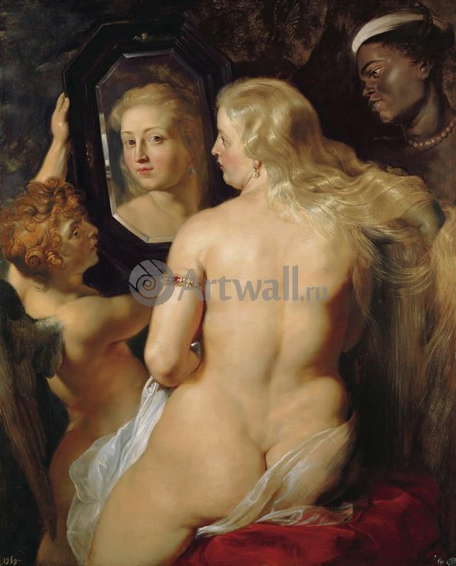 Рубенс Питер, картина Венера перед зеркаломРубенс Питер<br>Репродукция на холсте или бумаге. Любого нужного вам размера. В раме или без. Подвес в комплекте. Трехслойная надежная упаковка. Доставим в любую точку России. Вам осталось только повесить картину на стену!<br>