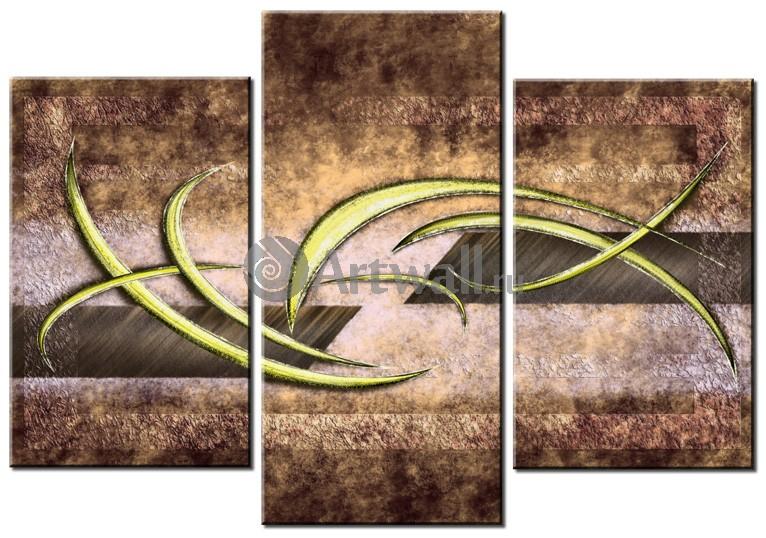 Модульная картина «Композиция 36183»Абстракция<br>Модульная картина на натуральном холсте и деревянном подрамнике. Подвес в комплекте. Трехслойная надежная упаковка. Доставим в любую точку России. Вам осталось только повесить картину на стену!<br>