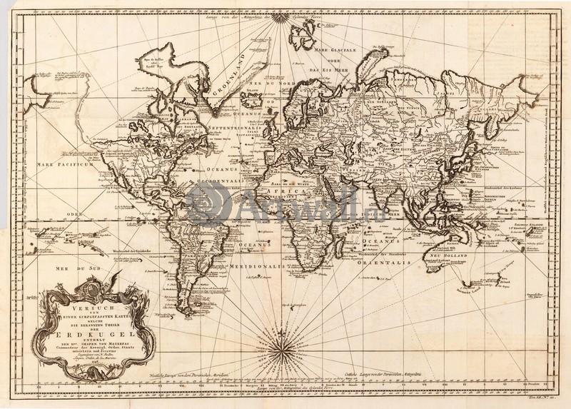 Старинные карты, картина Беллин Николас, Карта мираСтаринные карты<br>Репродукция на холсте или бумаге. Любого нужного вам размера. В раме или без. Подвес в комплекте. Трехслойная надежная упаковка. Доставим в любую точку России. Вам осталось только повесить картину на стену!<br>