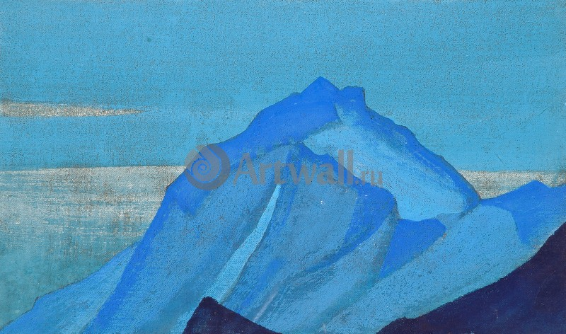 Рерих Николай, картина Горный этюдРерих Николай<br>Репродукция на холсте или бумаге. Любого нужного вам размера. В раме или без. Подвес в комплекте. Трехслойная надежная упаковка. Доставим в любую точку России. Вам осталось только повесить картину на стену!<br>