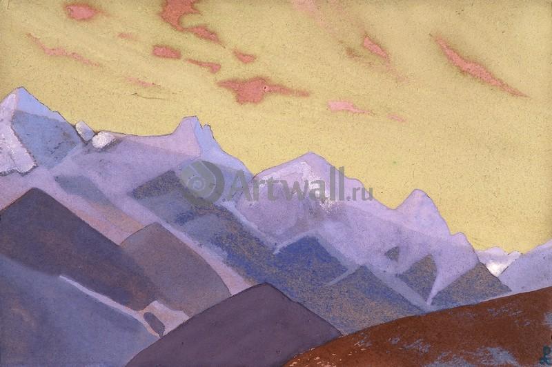 Рерих Николай, картина Подходы к ЭверестуРерих Николай<br>Репродукция на холсте или бумаге. Любого нужного вам размера. В раме или без. Подвес в комплекте. Трехслойная надежная упаковка. Доставим в любую точку России. Вам осталось только повесить картину на стену!<br>