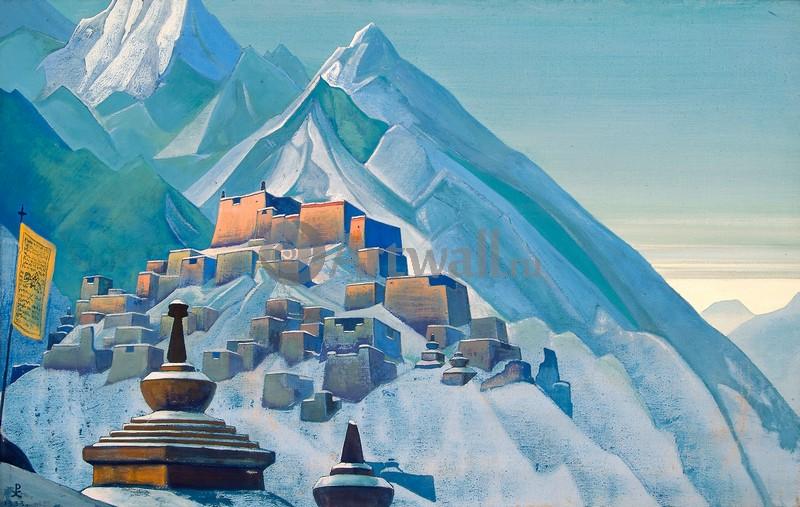 Рерих Николай, картина Тибет, ГималаиРерих Николай<br>Репродукция на холсте или бумаге. Любого нужного вам размера. В раме или без. Подвес в комплекте. Трехслойная надежная упаковка. Доставим в любую точку России. Вам осталось только повесить картину на стену!<br>