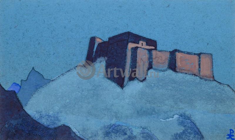 Рерих Николай, картина Тибетский дзонгРерих Николай<br>Репродукция на холсте или бумаге. Любого нужного вам размера. В раме или без. Подвес в комплекте. Трехслойная надежная упаковка. Доставим в любую точку России. Вам осталось только повесить картину на стену!<br>