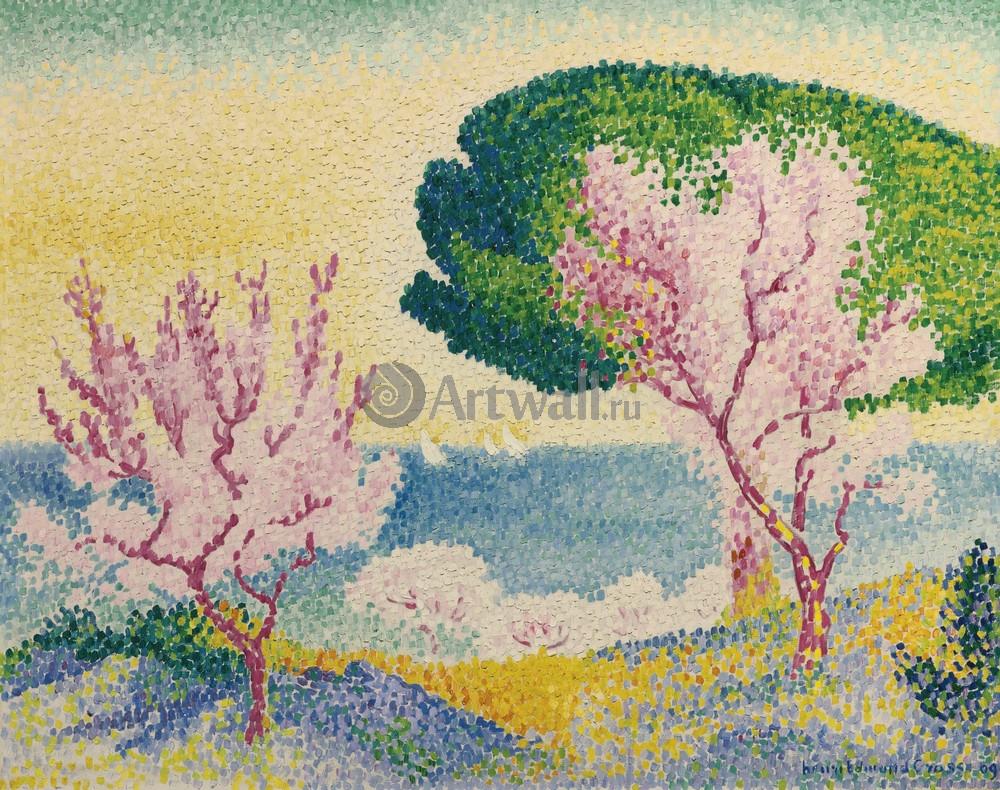 Кросс Анри Эдмон, картина Розовые деревьяКросс Анри Эдмон<br>Репродукция на холсте или бумаге. Любого нужного вам размера. В раме или без. Подвес в комплекте. Трехслойная надежная упаковка. Доставим в любую точку России. Вам осталось только повесить картину на стену!<br>