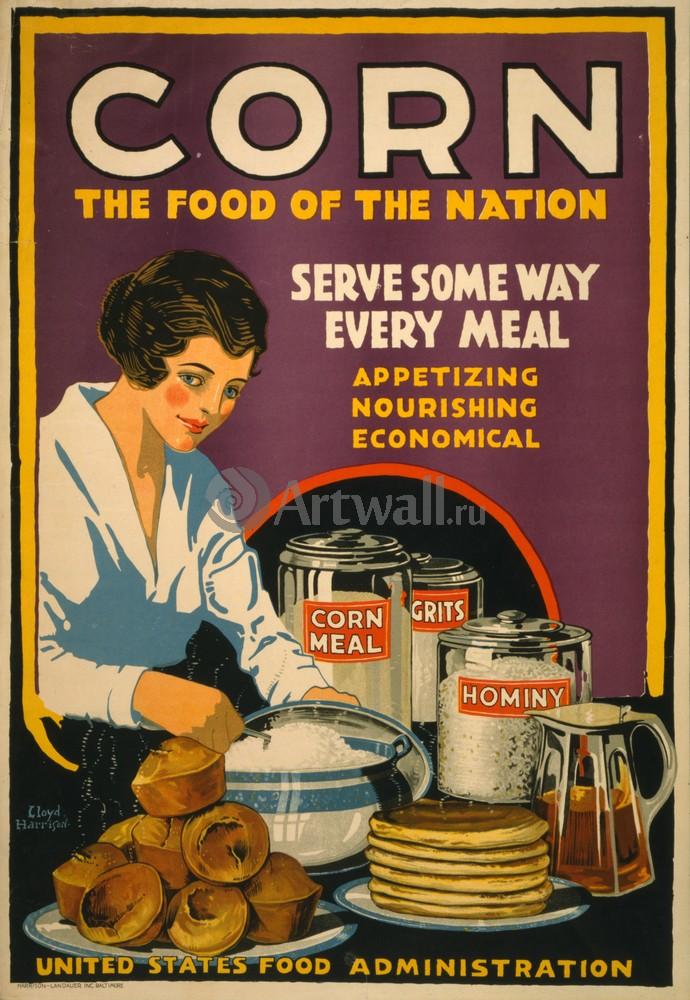 Плакат Еда