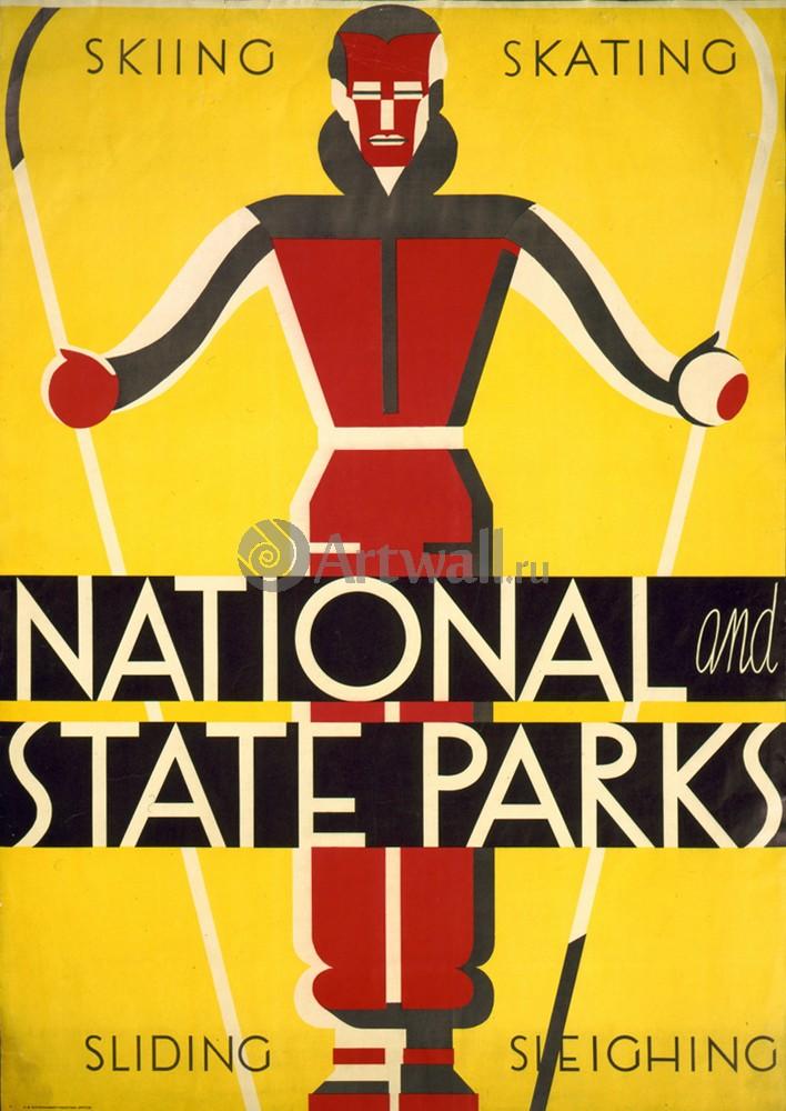 Плакат Национальный парк