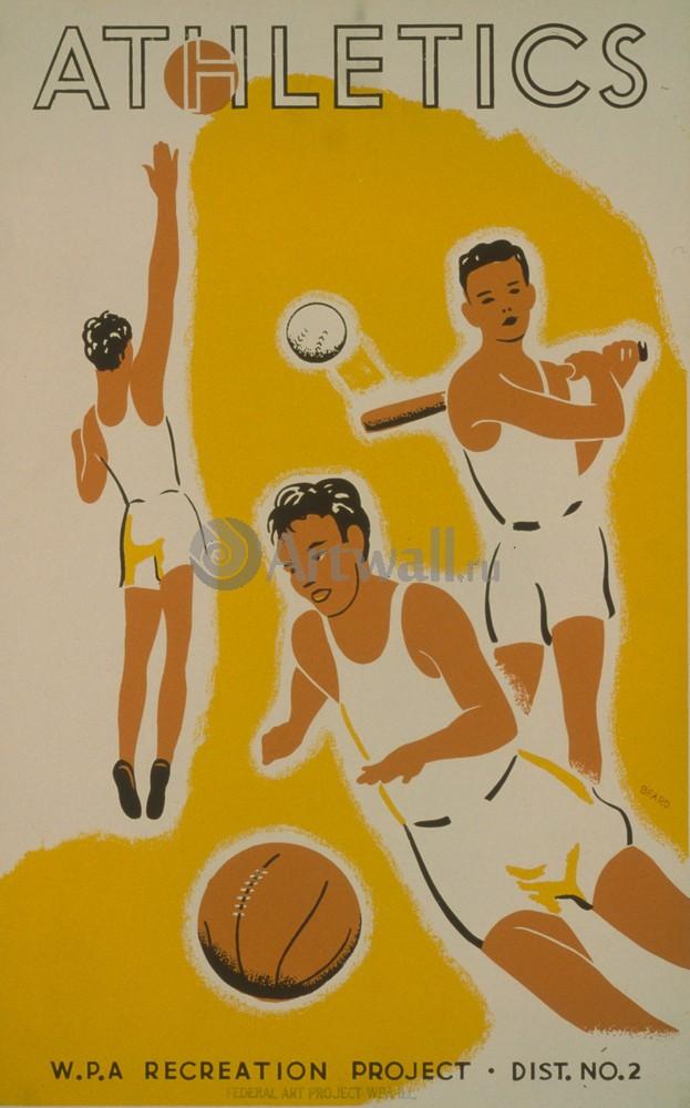 Плакат Спорт
