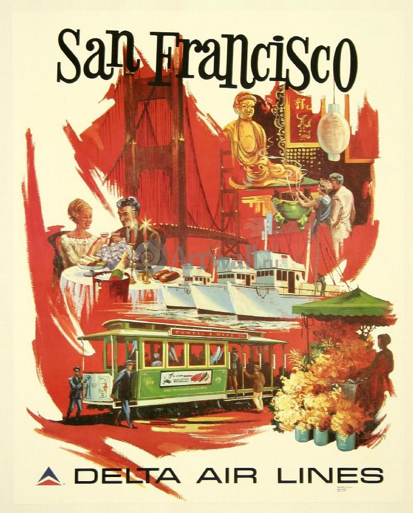 Плакат Туризм