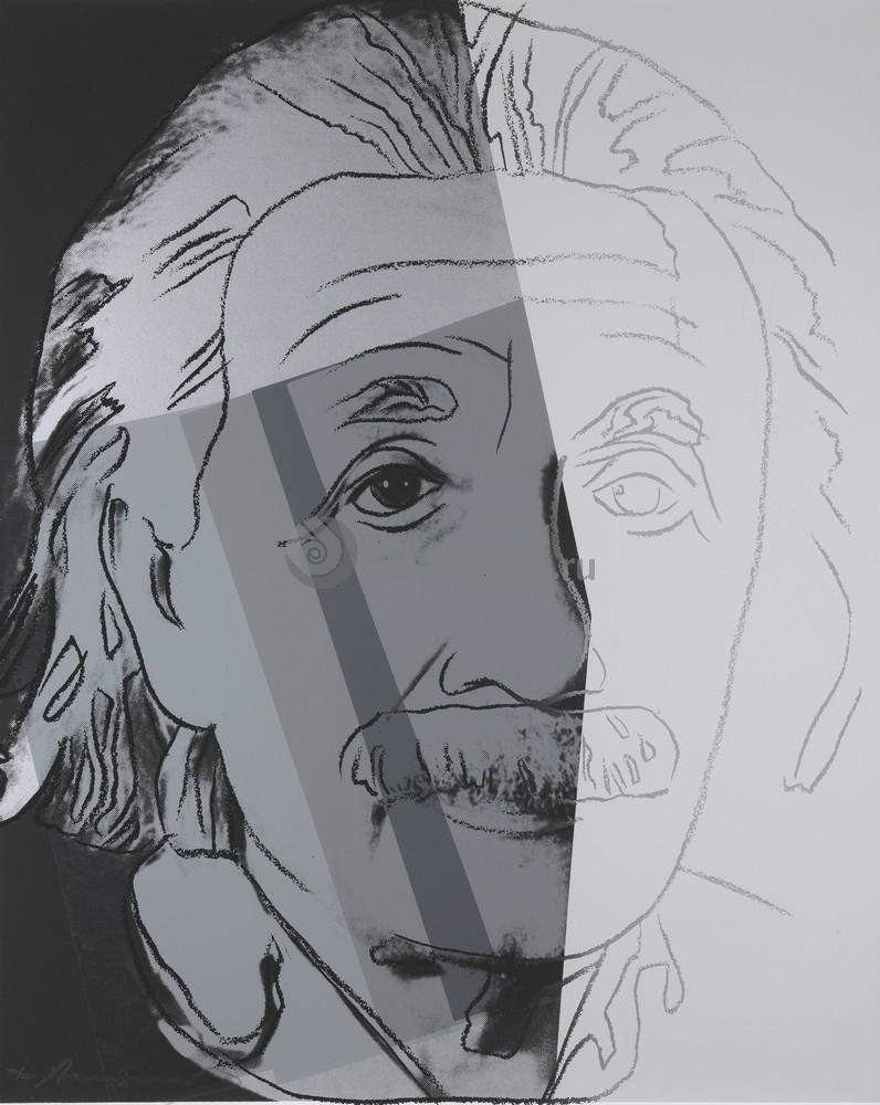 Уорхол Энди, картина Альберт Эйнштейн, Десять портретов евреев XX векаУорхол Энди<br>Репродукция на холсте или бумаге. Любого нужного вам размера. В раме или без. Подвес в комплекте. Трехслойная надежная упаковка. Доставим в любую точку России. Вам осталось только повесить картину на стену!<br>
