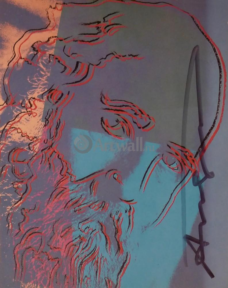 Уорхол Энди, картина Мартин Бубер, Десять портретов евреев XX векаУорхол Энди<br>Репродукция на холсте или бумаге. Любого нужного вам размера. В раме или без. Подвес в комплекте. Трехслойная надежная упаковка. Доставим в любую точку России. Вам осталось только повесить картину на стену!<br>