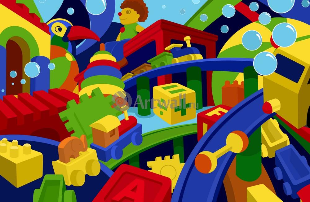 Постер Разные детские постеры Постер 40298Разные детские постеры<br>Постер на холсте или бумаге. Любого нужного вам размера. В раме или без. Подвес в комплекте. Трехслойная надежная упаковка. Доставим в любую точку России. Вам осталось только повесить картину на стену!<br>