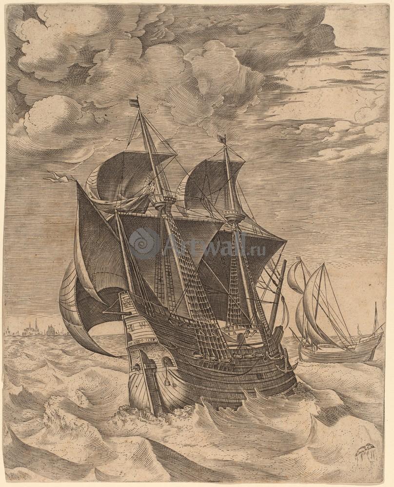 Искусство, картина Голландские корабли, 20x25 см, на бумагеГравюры по рисункам Брейгеля<br>Постер на холсте или бумаге. Любого нужного вам размера. В раме или без. Подвес в комплекте. Трехслойная надежная упаковка. Доставим в любую точку России. Вам осталось только повесить картину на стену!<br>