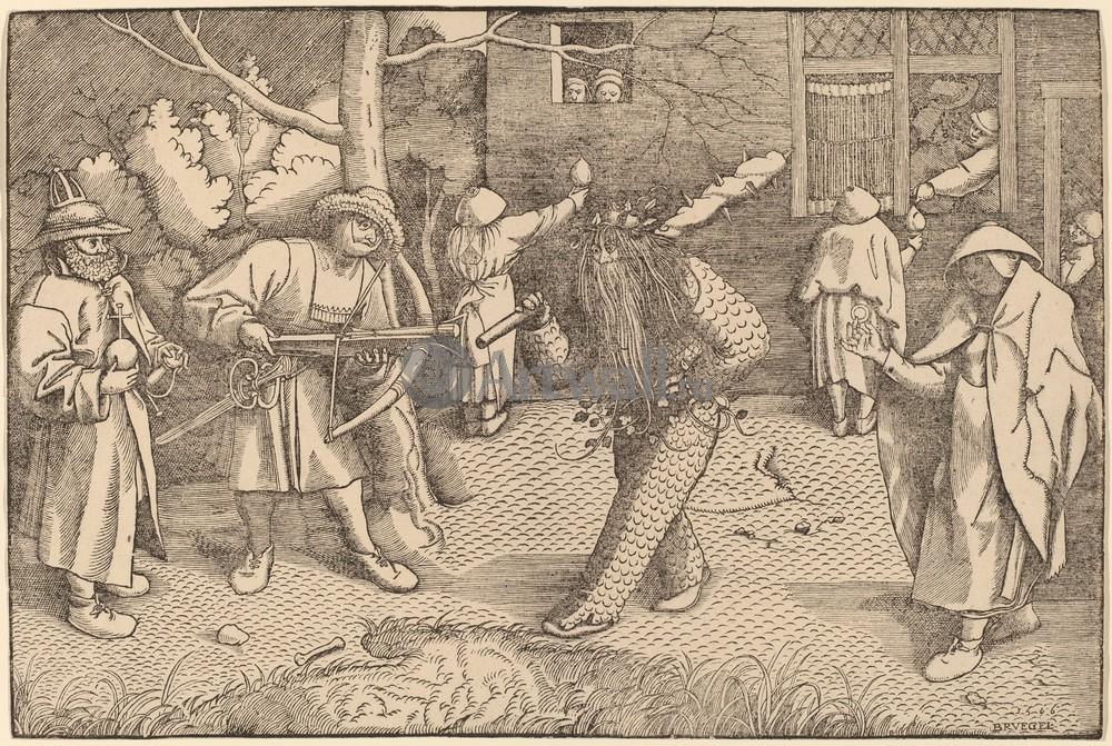 Гравюры по рисункам Брейгеля, картина