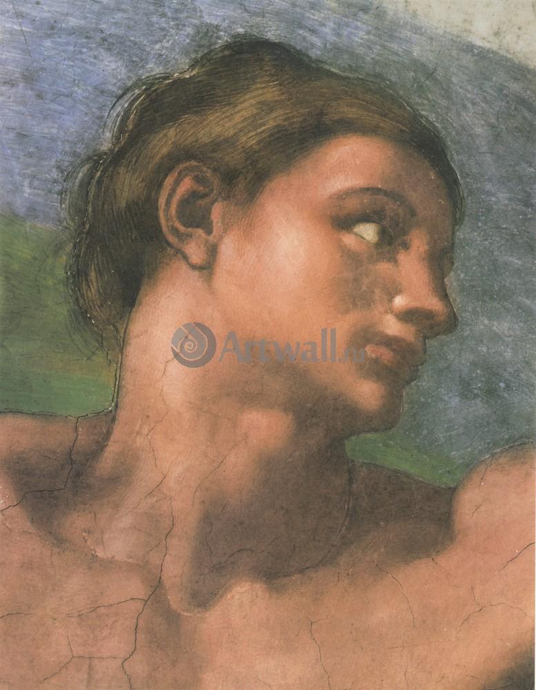 Микеланджело Буонарроти, картина Голова АдамаМикеланджело Буонарроти<br>Репродукция на холсте или бумаге. Любого нужного вам размера. В раме или без. Подвес в комплекте. Трехслойная надежная упаковка. Доставим в любую точку России. Вам осталось только повесить картину на стену!<br>