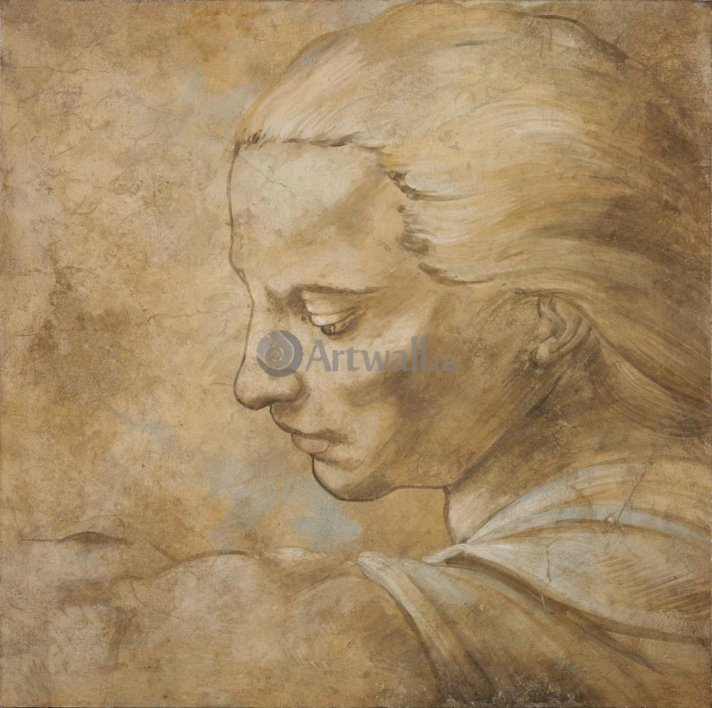 Микеланджело Буонарроти, картина Деталь фрескиМикеланджело Буонарроти<br>Репродукция на холсте или бумаге. Любого нужного вам размера. В раме или без. Подвес в комплекте. Трехслойная надежная упаковка. Доставим в любую точку России. Вам осталось только повесить картину на стену!<br>