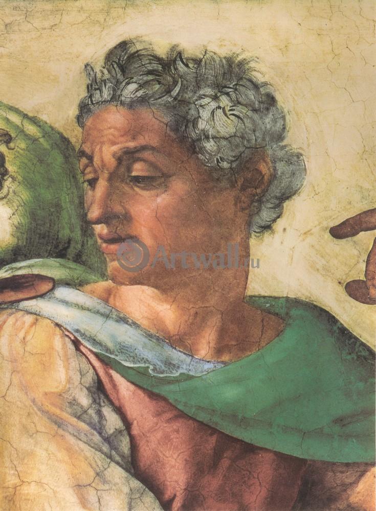 Художники, картина Пророк Исайя, 20x27 см, на бумагеМикеланджело Буонарроти<br>Постер на холсте или бумаге. Любого нужного вам размера. В раме или без. Подвес в комплекте. Трехслойная надежная упаковка. Доставим в любую точку России. Вам осталось только повесить картину на стену!<br>