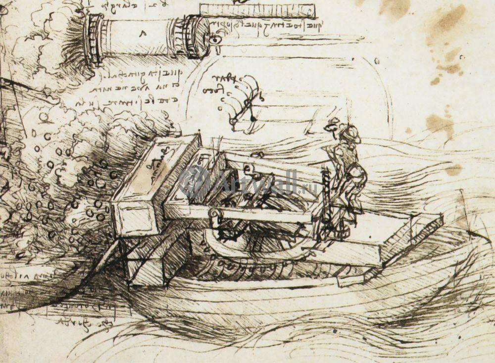 Да Винчи Леонардо, картина Репродукция 40615Да Винчи Леонардо<br>Репродукция на холсте или бумаге. Любого нужного вам размера. В раме или без. Подвес в комплекте. Трехслойная надежная упаковка. Доставим в любую точку России. Вам осталось только повесить картину на стену!<br>