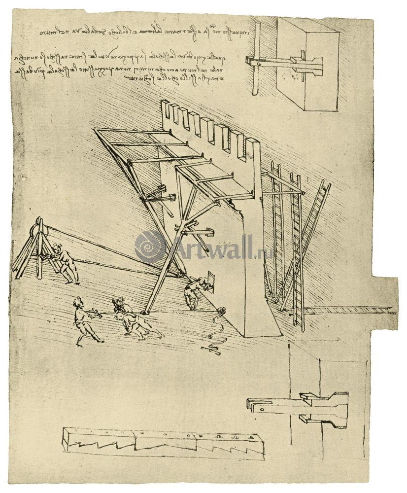 Да Винчи Леонардо, картина Репродукция 40620Да Винчи Леонардо<br>Репродукция на холсте или бумаге. Любого нужного вам размера. В раме или без. Подвес в комплекте. Трехслойная надежная упаковка. Доставим в любую точку России. Вам осталось только повесить картину на стену!<br>