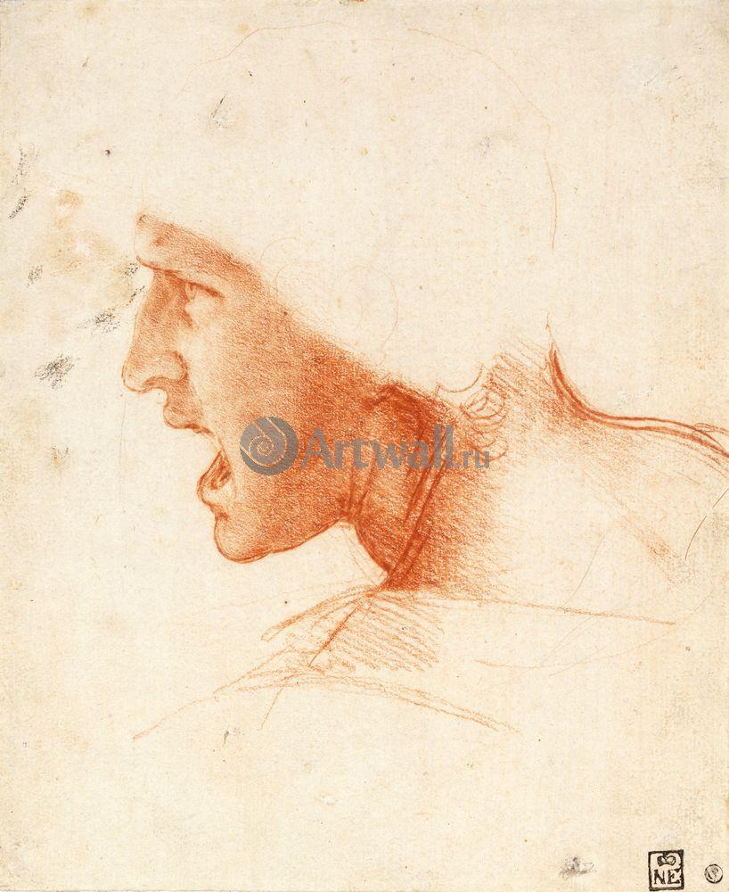 Да Винчи Леонардо, картина Репродукция 40623Да Винчи Леонардо<br>Репродукция на холсте или бумаге. Любого нужного вам размера. В раме или без. Подвес в комплекте. Трехслойная надежная упаковка. Доставим в любую точку России. Вам осталось только повесить картину на стену!<br>