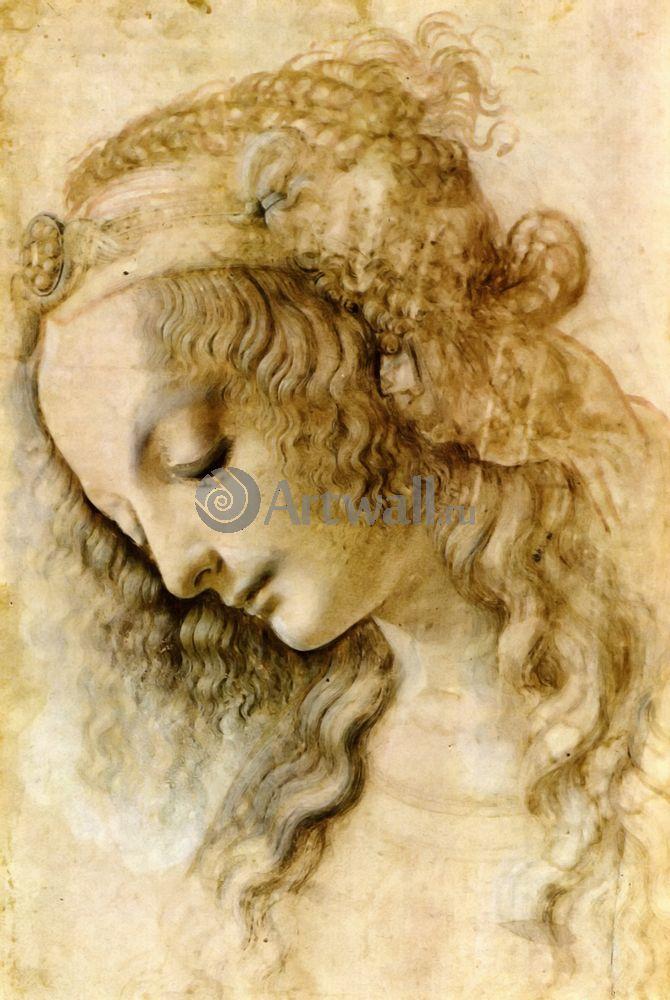 Да Винчи Леонардо, картина Репродукция 40629Да Винчи Леонардо<br>Репродукция на холсте или бумаге. Любого нужного вам размера. В раме или без. Подвес в комплекте. Трехслойная надежная упаковка. Доставим в любую точку России. Вам осталось только повесить картину на стену!<br>