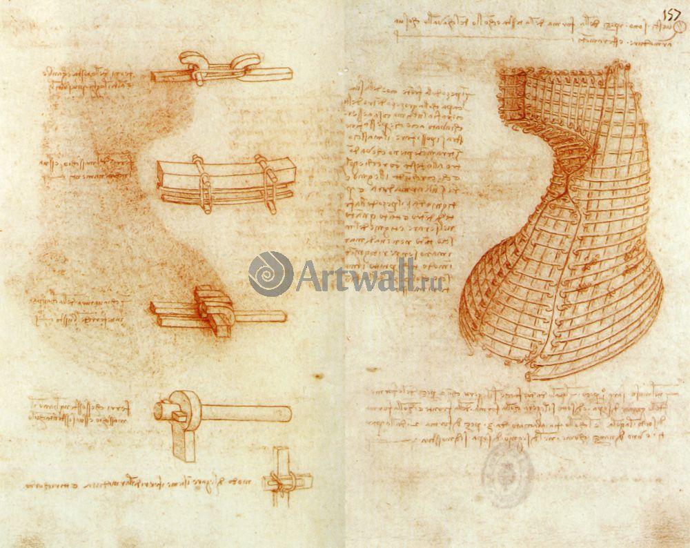 Да Винчи Леонардо, картина Репродукция 40633Да Винчи Леонардо<br>Репродукция на холсте или бумаге. Любого нужного вам размера. В раме или без. Подвес в комплекте. Трехслойная надежная упаковка. Доставим в любую точку России. Вам осталось только повесить картину на стену!<br>