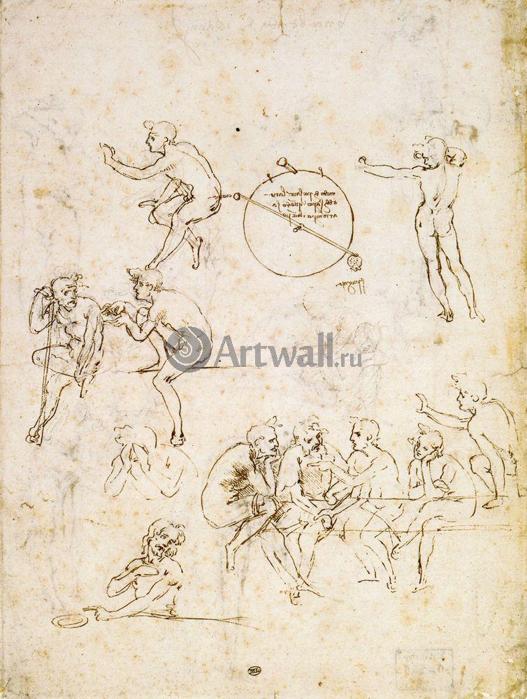 Да Винчи Леонардо, картина Репродукция 40635Да Винчи Леонардо<br>Репродукция на холсте или бумаге. Любого нужного вам размера. В раме или без. Подвес в комплекте. Трехслойная надежная упаковка. Доставим в любую точку России. Вам осталось только повесить картину на стену!<br>