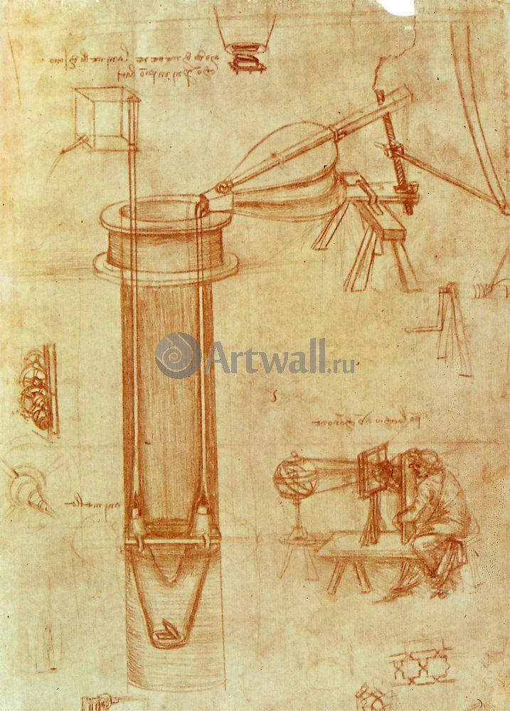 Да Винчи Леонардо, картина Репродукция 40645Да Винчи Леонардо<br>Репродукция на холсте или бумаге. Любого нужного вам размера. В раме или без. Подвес в комплекте. Трехслойная надежная упаковка. Доставим в любую точку России. Вам осталось только повесить картину на стену!<br>