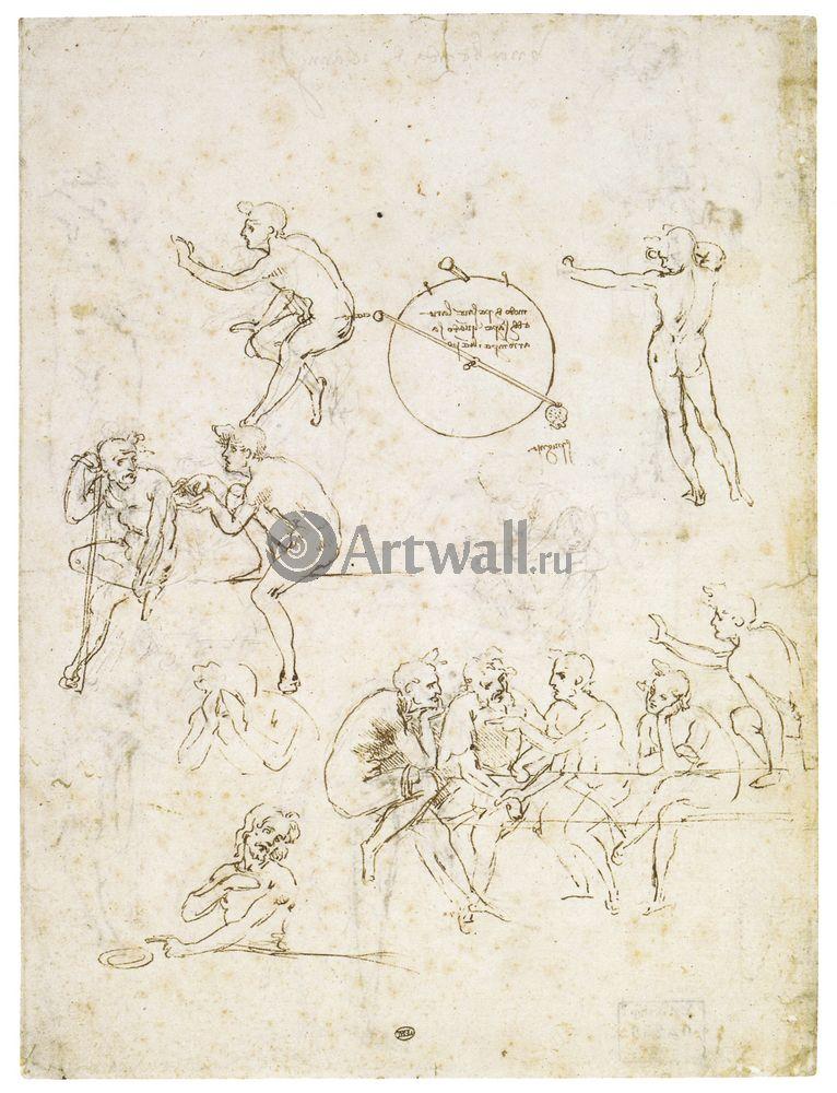 Да Винчи Леонардо, картина Репродукция 40647Да Винчи Леонардо<br>Репродукция на холсте или бумаге. Любого нужного вам размера. В раме или без. Подвес в комплекте. Трехслойная надежная упаковка. Доставим в любую точку России. Вам осталось только повесить картину на стену!<br>