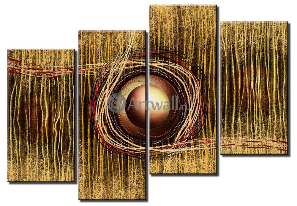 Модульная картина «Сила ветра»Абстракция<br>Модульная картина на натуральном холсте и деревянном подрамнике. Подвес в комплекте. Трехслойная надежная упаковка. Доставим в любую точку России. Вам осталось только повесить картину на стену!<br>