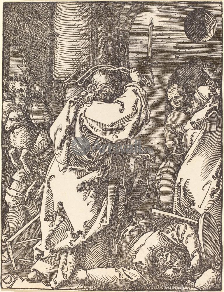 Дюрер Альбрехт, картина Иисус изгоняет торговцев из храмаДюрер Альбрехт<br>Репродукция на холсте или бумаге. Любого нужного вам размера. В раме или без. Подвес в комплекте. Трехслойная надежная упаковка. Доставим в любую точку России. Вам осталось только повесить картину на стену!<br>