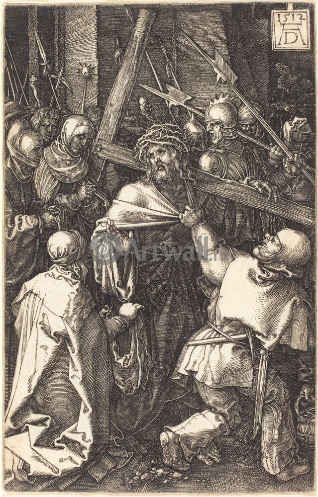 Дюрер Альбрехт, картина Иисус несет крестДюрер Альбрехт<br>Репродукция на холсте или бумаге. Любого нужного вам размера. В раме или без. Подвес в комплекте. Трехслойная надежная упаковка. Доставим в любую точку России. Вам осталось только повесить картину на стену!<br>