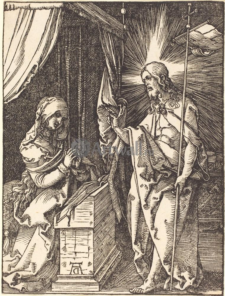 Дюрер Альбрехт, картина Явление Иисуса материДюрер Альбрехт<br>Репродукция на холсте или бумаге. Любого нужного вам размера. В раме или без. Подвес в комплекте. Трехслойная надежная упаковка. Доставим в любую точку России. Вам осталось только повесить картину на стену!<br>