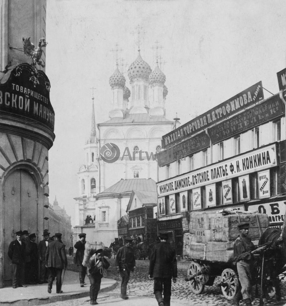 Постер Москва - старые фотографии Улица Москвы 2Москва - старые фотографии<br>Постер на холсте или бумаге. Любого нужного вам размера. В раме или без. Подвес в комплекте. Трехслойная надежная упаковка. Доставим в любую точку России. Вам осталось только повесить картину на стену!<br>