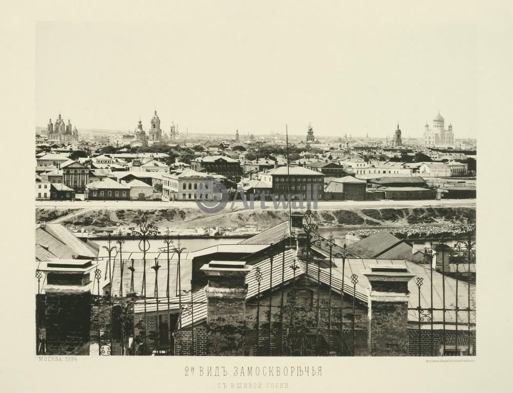 Постер Москва - старые фотографии